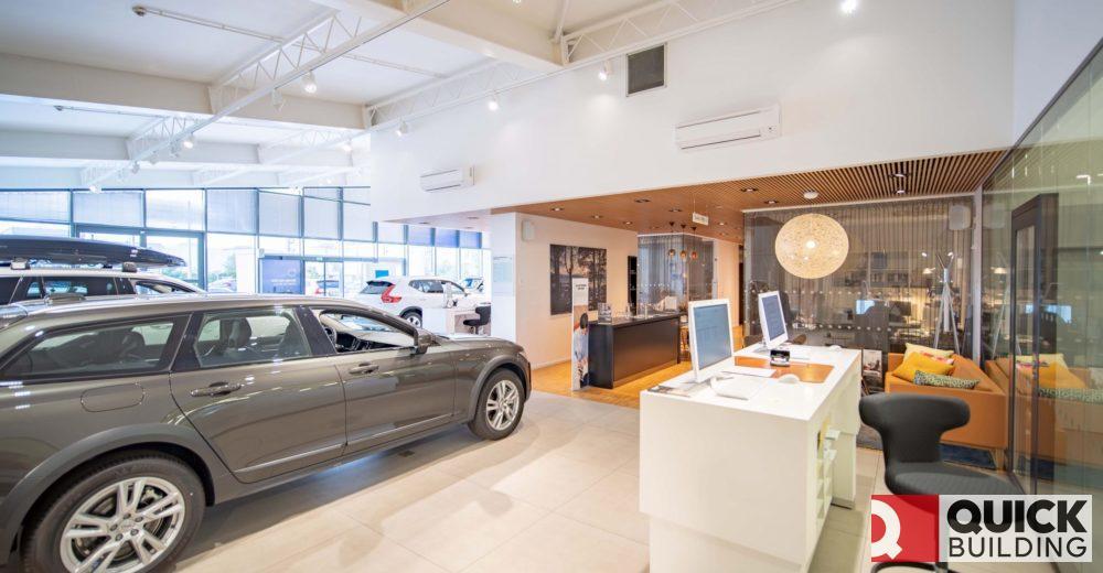 Rekonstrukce showroomu Volvo